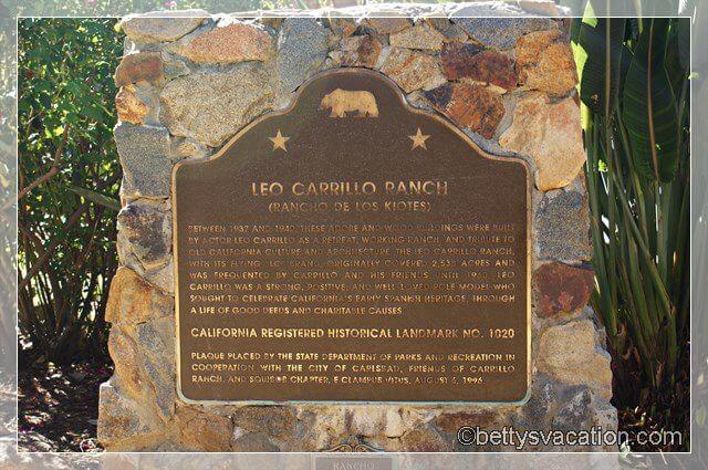 3 - Leo Carrillo Ranch