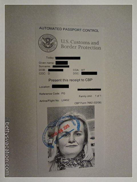 34 - Einreisezettel