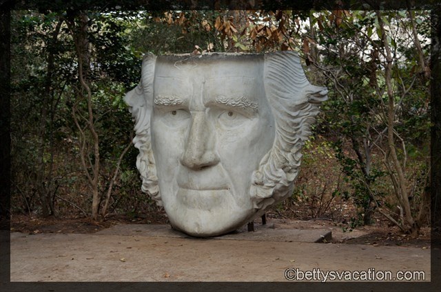 Sam Houston Mask