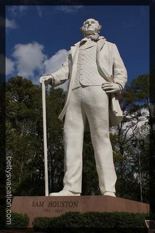 Sam Houston Statue 2