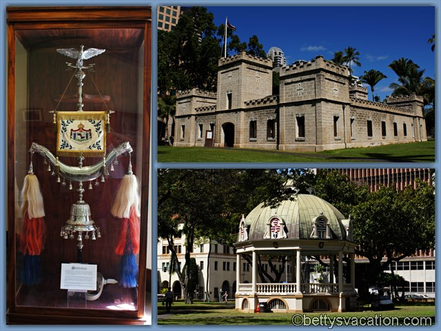 16 - Iolani Palace Guards House