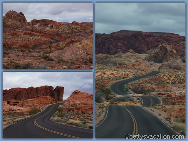 35 - Valley of Fire Parkstrasse