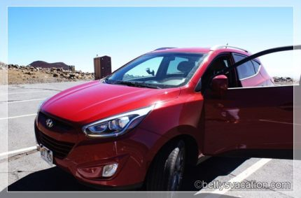 Mietwagen: Hyundai Tucson