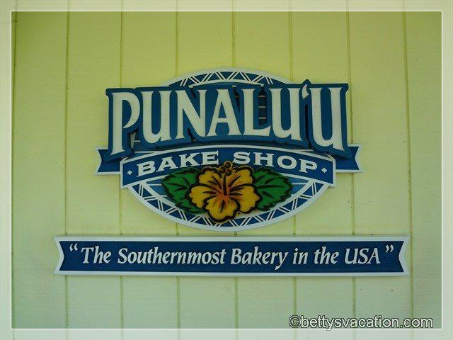 10 - Punalu'u Bake Shop
