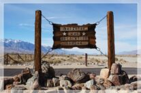 Manzanar National Historic Site, Lone Pine, Kalifornien