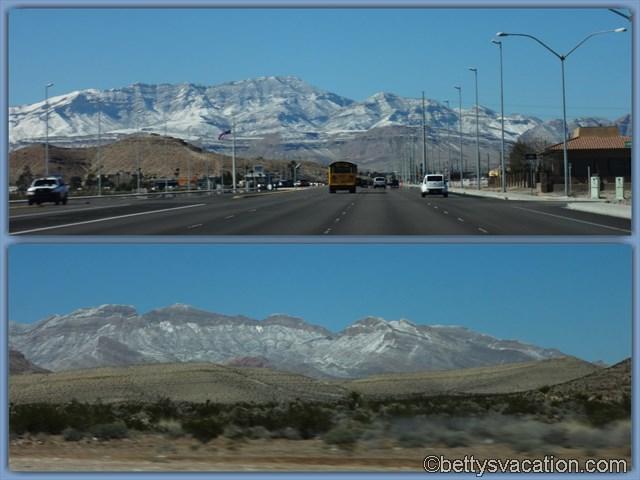 6 - Ausfahrt aus Las Vegas