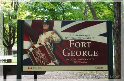 Fort George National Historic Site of Canada, Niagara-on-the-Lake