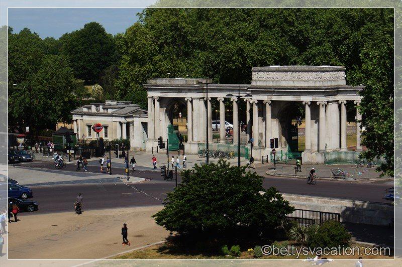 4 - Blick auf Hyde Park Corner