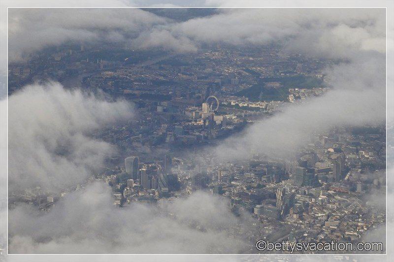 7 - Anflug auf London