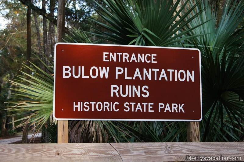 12 - Bulow Plantation Ruins SP