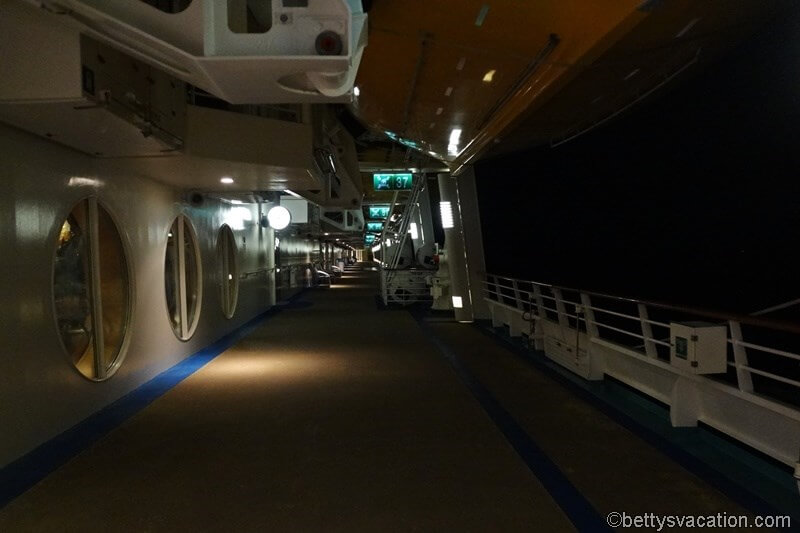 30 - Deck at night