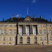 Schloss Amalienborg, Kopenhagen, Dänemark