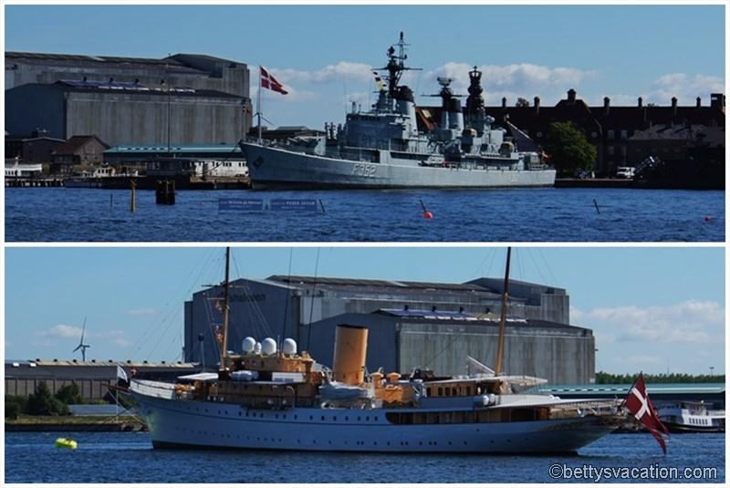 5 - Fregatte und Jacht