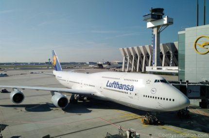 Lufthansa Business Class Boeing 747-8: Frankfurt-Chicago