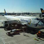 Lufthansa Premium Economy Boeing 747-8: Frankfurt-Newark