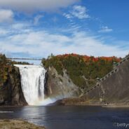 Montmorency Fall, Quebec, Kanada