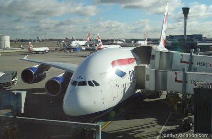 British Airways World Traveller Plus A380: London-Los Angeles