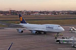 Berlin nach Frankfurt mit der Boeing 747