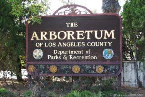 Los Angeles County Arboretum and Botanic Garden, Arcadia, Kalifornien