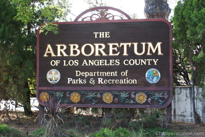 Los Angeles County Arboretum and Botanic Garden, Arcadia, Kalifornien