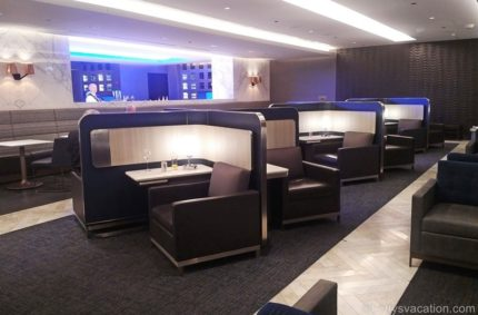 United Polaris Lounge, Chicago O'Hare