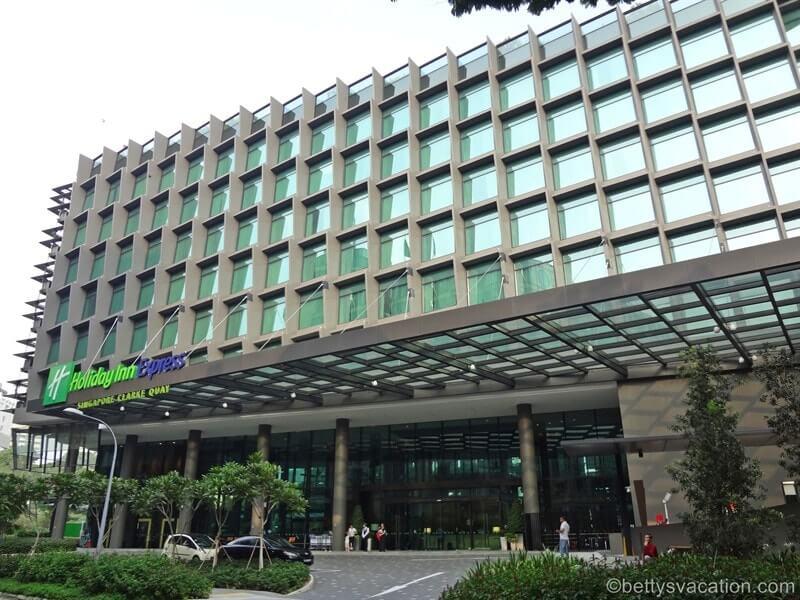 Holiday Inn Express Clarke Quay, Singapur