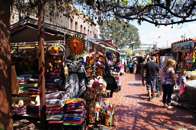 El Pueblo de Los Angeles Historical Monument, Olvera Street, Los Angeles