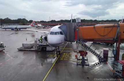 Lufthansa Business Class A321: Berlin-Frankfurt
