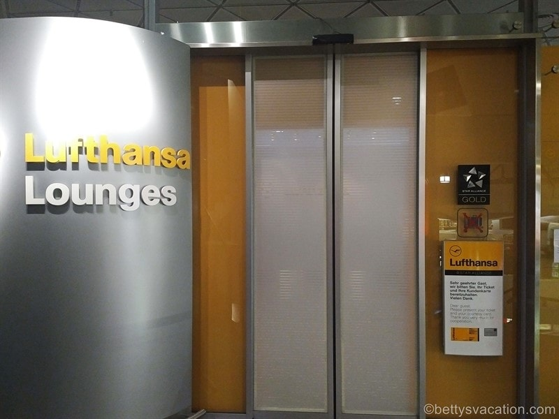 Lufthansa Business Lounge, Berlin-Tegel