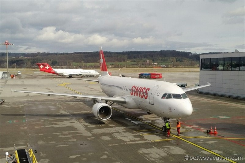 SWISS Business Class A320: Zürich-Hannover