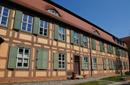 Die Messingwerksiedlung und der Finower Wasserturm, Eberswalde