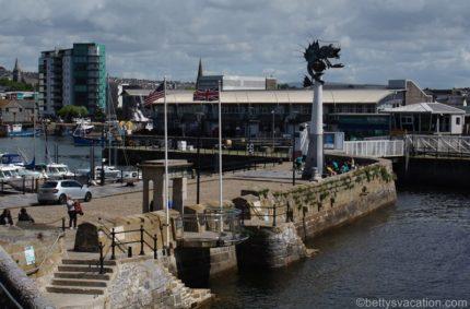 Stadtrundgang durch Plymouth, Devon, England