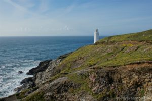 Trevose Head Lighthouse, Cornwall, England