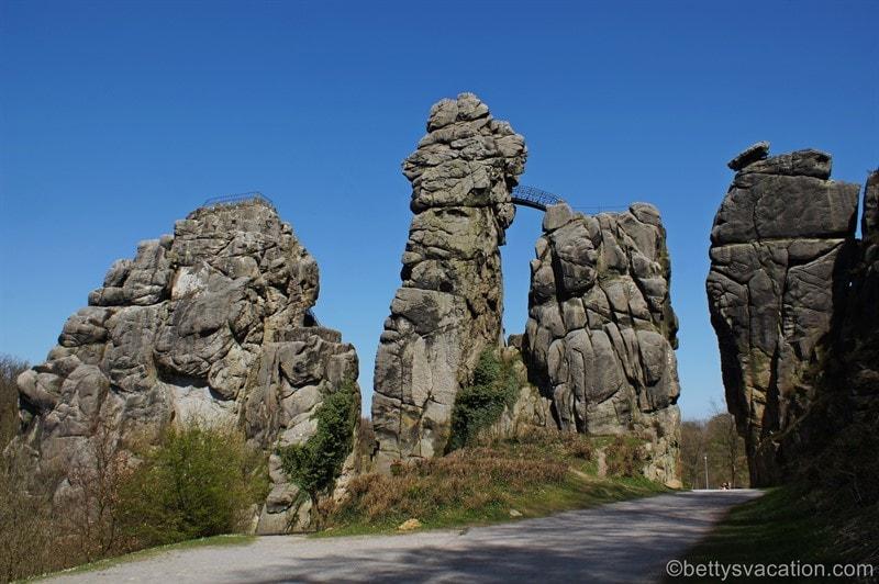 Externsteine, Horn-Bad Meinberg, Nordrhein-Westfalen