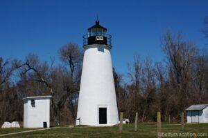 Turkey Point Lighthouse und Elk Neck State Park, Maryland
