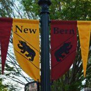 Rundgang durch New Bern, North Carolina