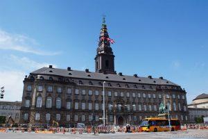 Schloss Christiansborg - Prunkräume, Kopenhagen, Dänemark