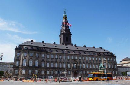 Schloss Christiansborg – Prunkräume, Kopenhagen, Dänemark
