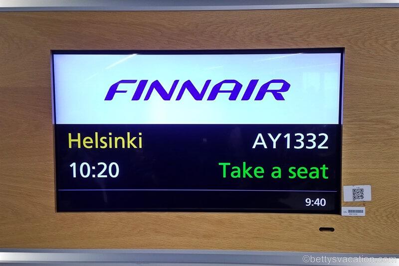 Finnair Business Class A350: London-Helsinki