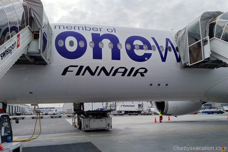 Business Light Tarif von Finnair als Oneworld Emerald