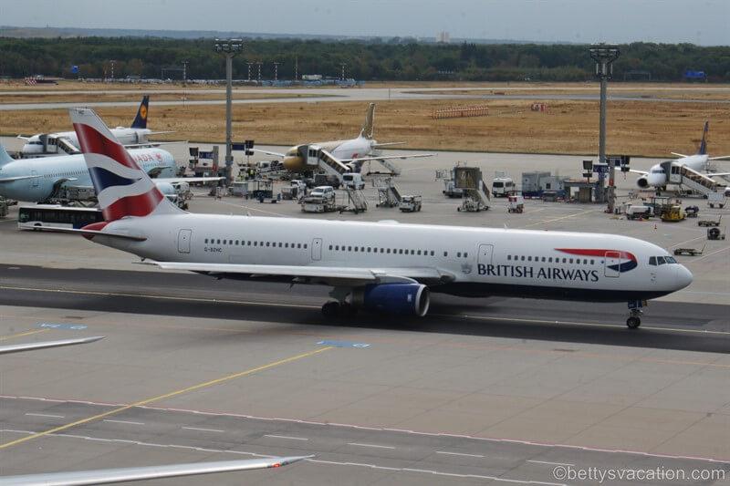 The Last Farewell - mein letzter Flug mit der Boeing 767 von British Airways