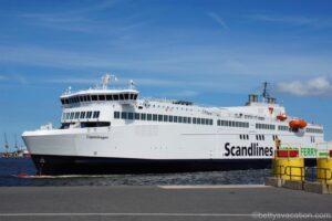 Scandlines Fähre Copenhagen - von Rostock nach Gedser