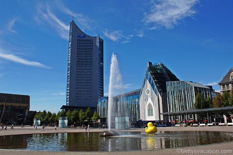 Stadtrundgang durch Leipzig, Sachsen - Teil 1