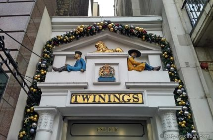 Tea Time – Twinings in London
