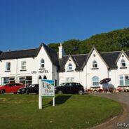 Uig Hotel, Isle of Skye, Schottland