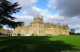 Christmas at Blenheim Palace, England