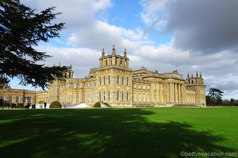 Christmas at Blenheim Palace, England