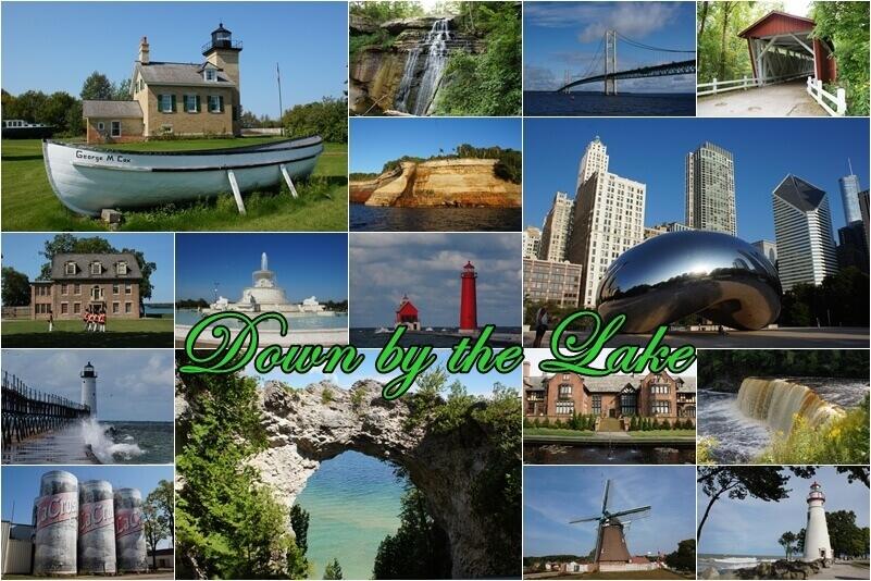 Down by the Lake - Rund um die Großen Seen - mein neuer Reisebericht