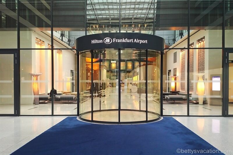 Review Hilton Hotel Frankfurt Airport Betty S Vacation