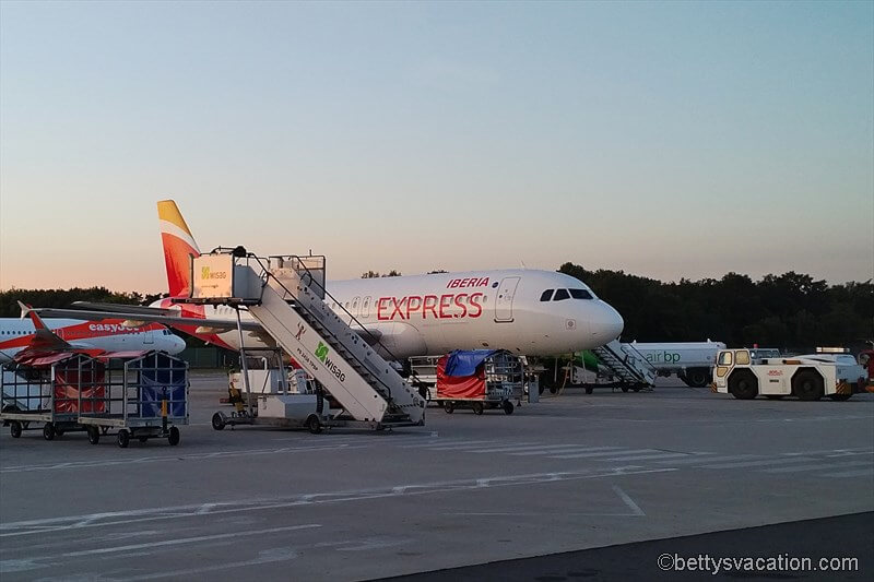 Iberia Business Class A320: Berlin-Madrid